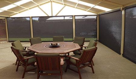 zipscreen patio blinds in Adelaide
