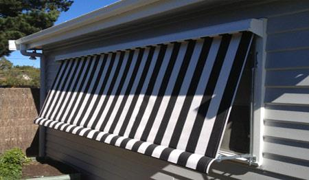 Canvas window awnings adelaide