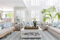 Shutters in Hampton Styled Home